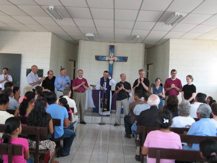 The Board of Directors of Cristosal in 2010
