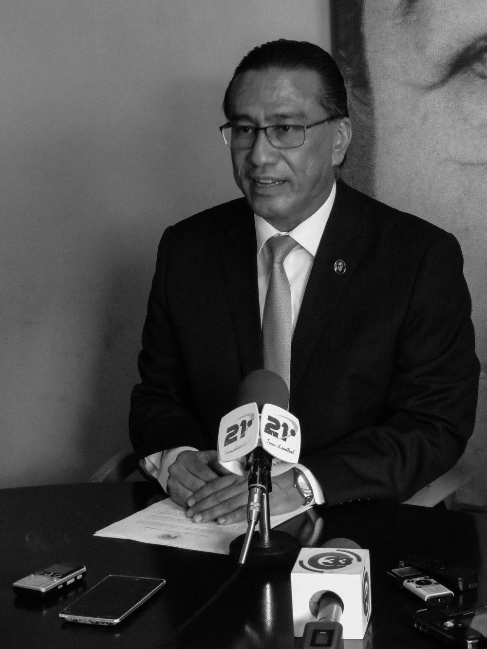 David Morales, Director de Derechos Humanos de Cristosal/Foto Cristosal