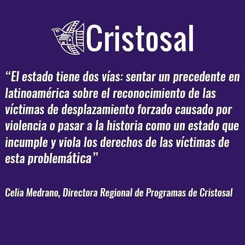 A 25 días de la sentencia emitida por la sala de lo constitucional de la Corte Suprema de Justicia de El Salvador en favor de víctimas de desplazamiento forzado causado por violencia. #desplazamientoForzado #ElSalvador #forceddisplacement