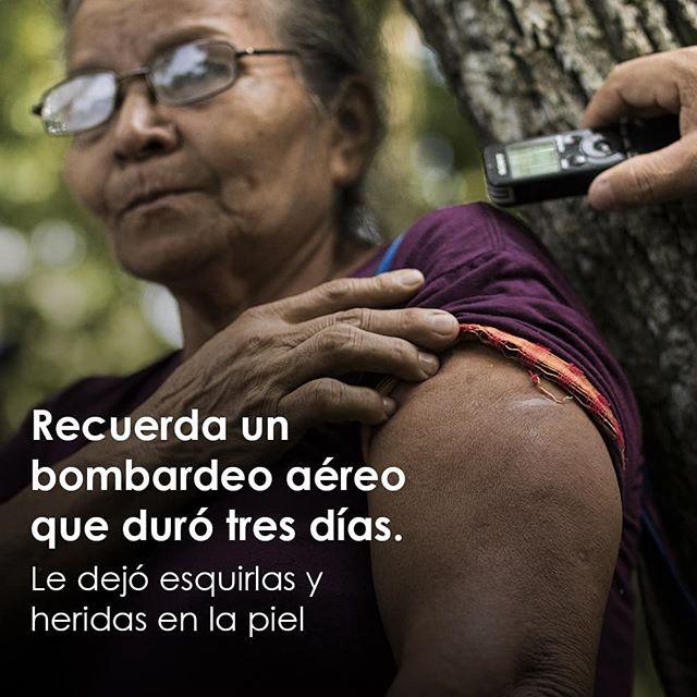La historia de sobrevivencia de María del Rosario López forma parte una cadena de crímenes de lesa humanidad cometidos por la Fuerza Armada de El Salvador durante el conflicto armado. Actualmente, el caso Masacre #ElMozote y lugares aledaños tiene en el banquillo de los acusados al alto mando de la Fuerza Armada de la época. {Segunda parte} #justicia #impunidad #ElSalvador #derechoshumanos #verdad