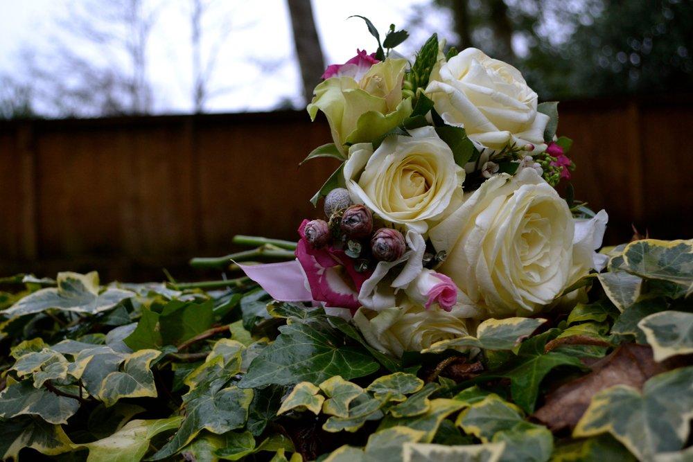Birdal bouquet (side)
