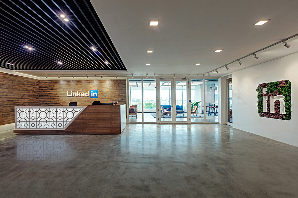 LinkedIn Pulls Every Stop To Make Their Employees Happy And Productive At  Work. We Took The Same Ethos And Spatially Designed It Into The Brand  Experience.