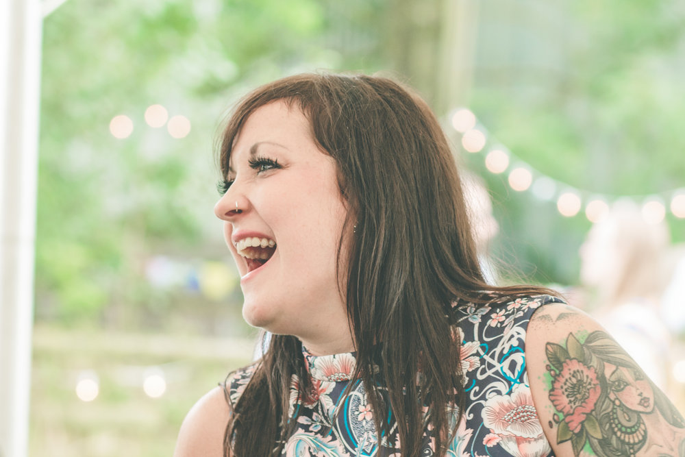 Laughter and joy, alternative wedding photography