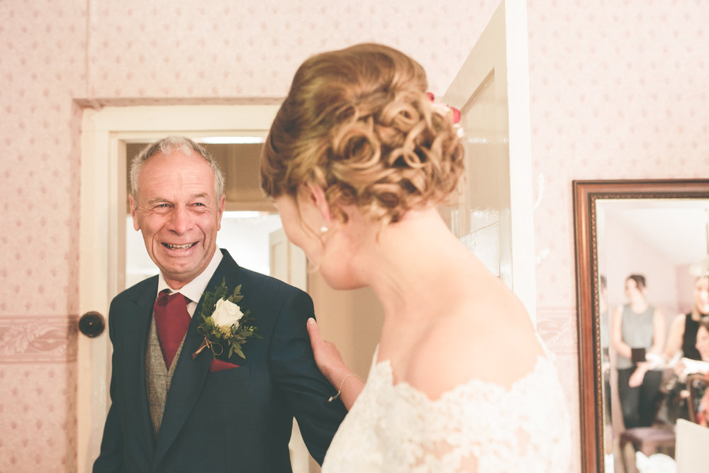 Father of bride tears, destination wedding photographer