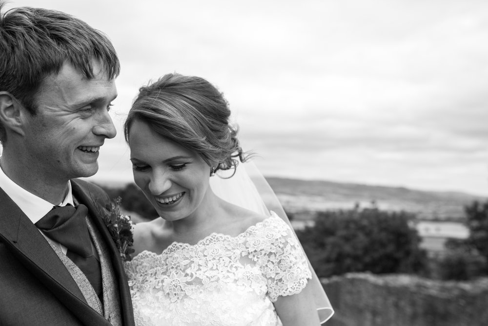 Natural wedding photography in Shropshire and Wales