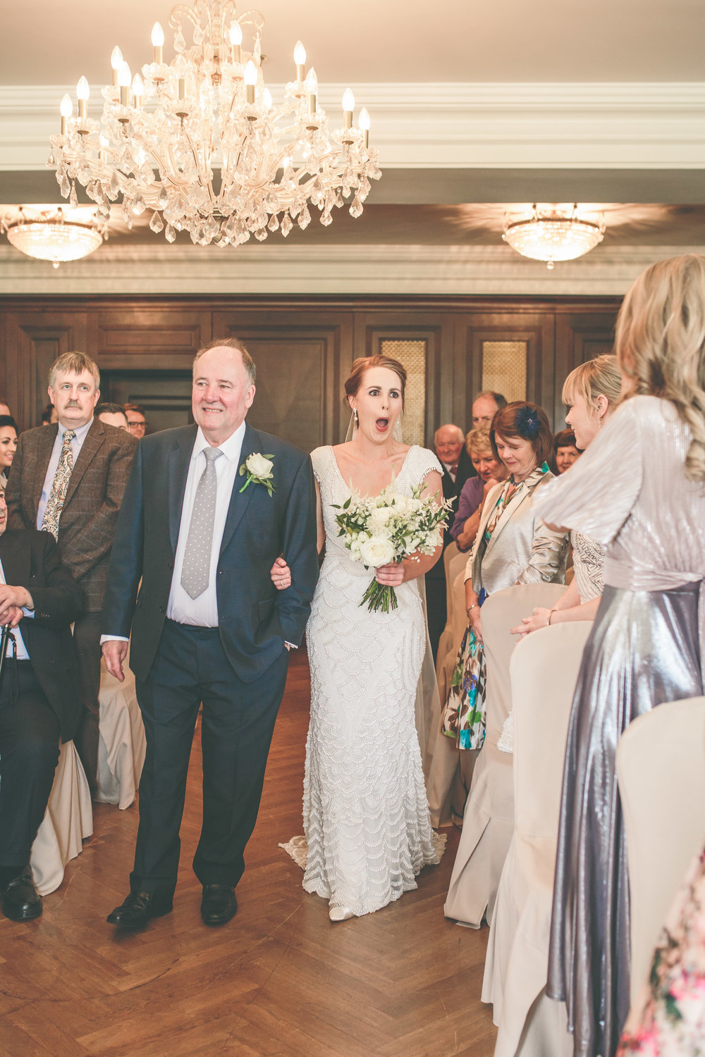 Father of the bride, Castlemartyr Resort wedding, Ireland.