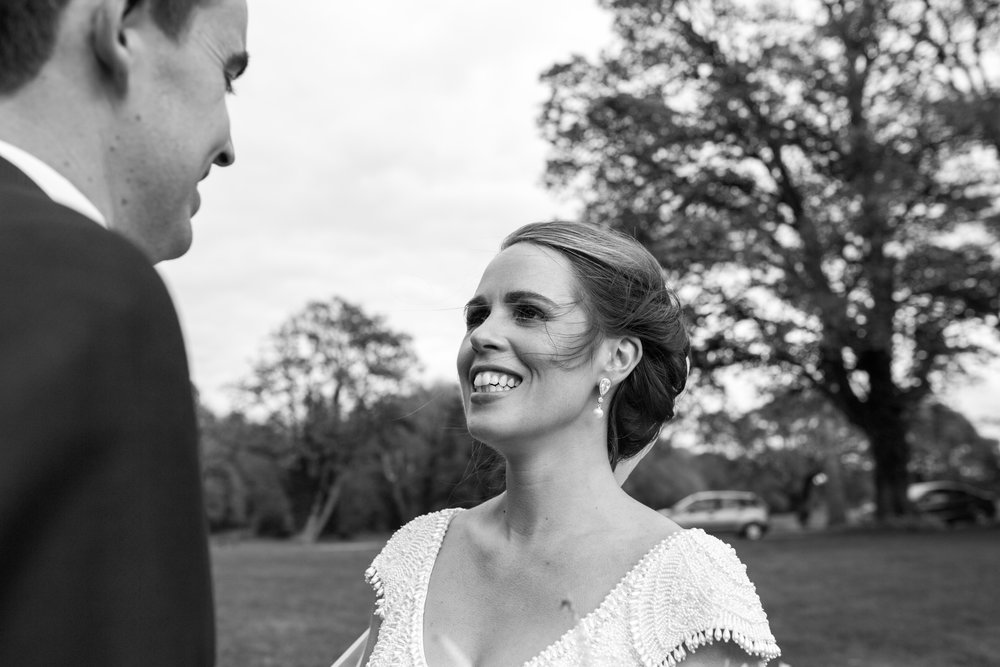 Bride and Groom, Castlemartyr wedding photographer