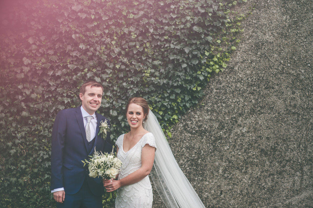 Bride and Groom portraits Castlemartyr Co. Cork.