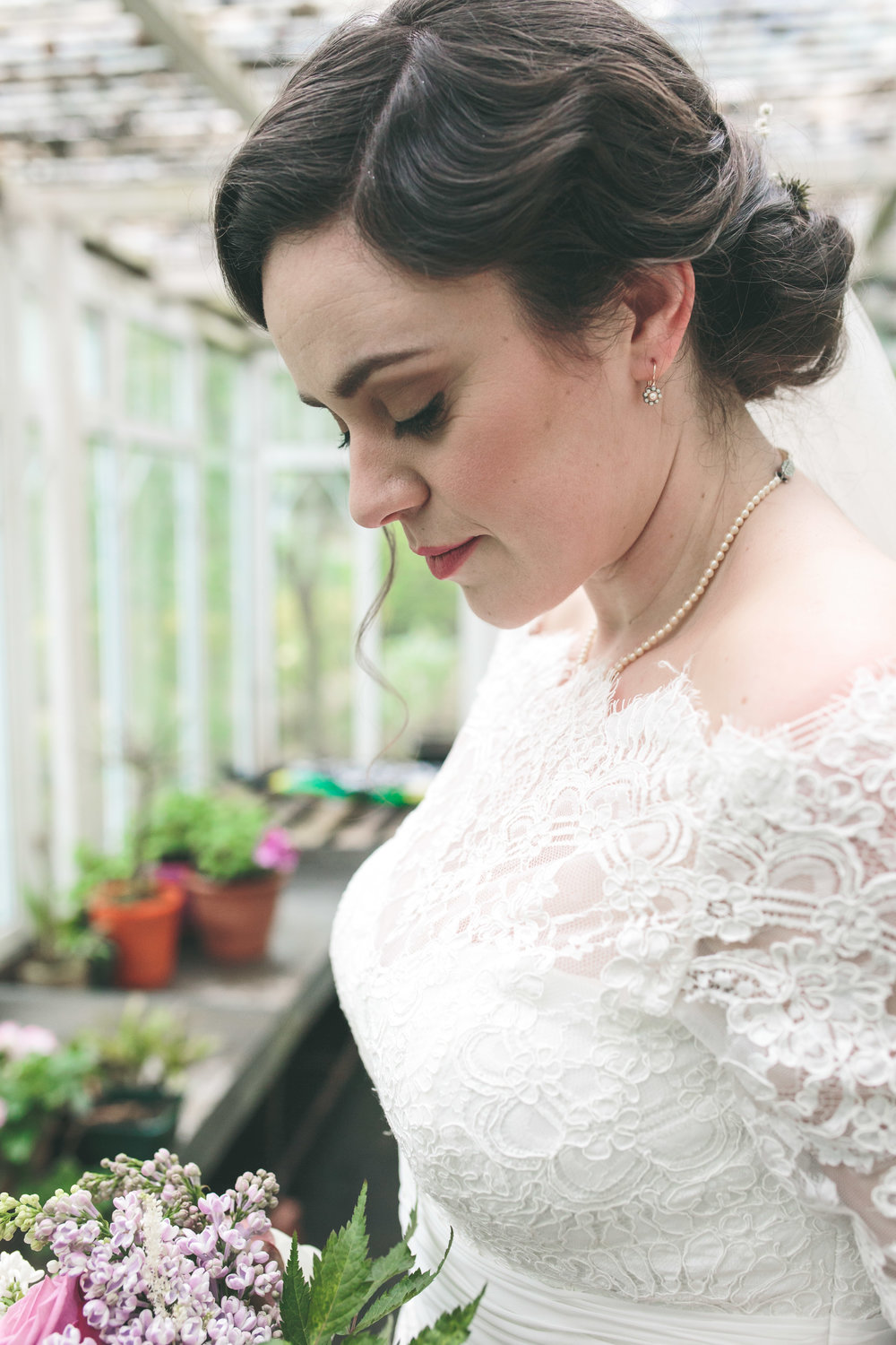 Cashel House Hotel - Greenhouse wedding photography
