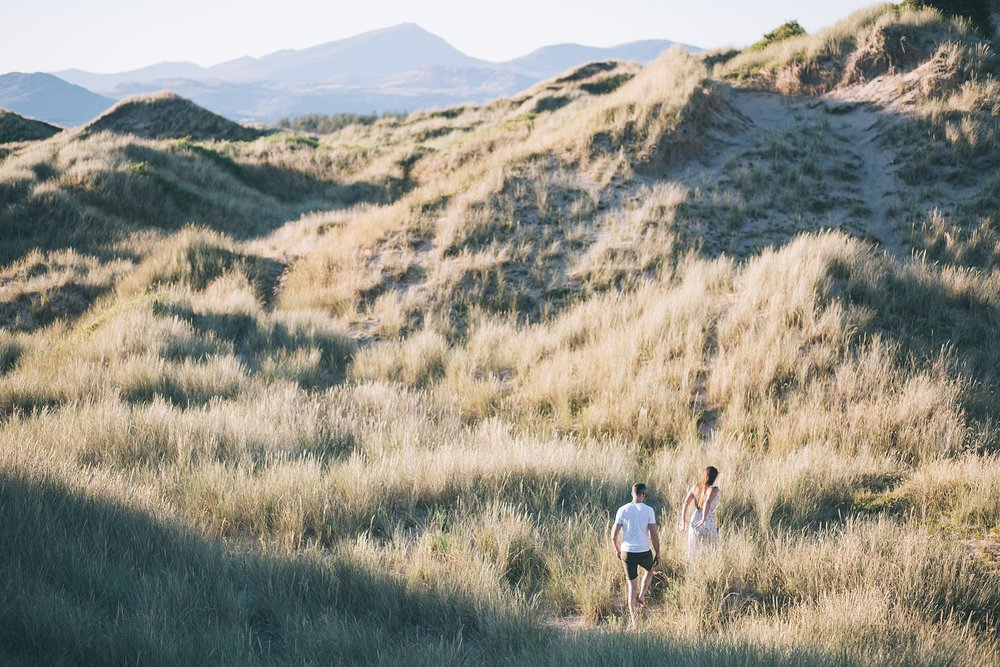 Snowdonia engagement shoot UK photographer