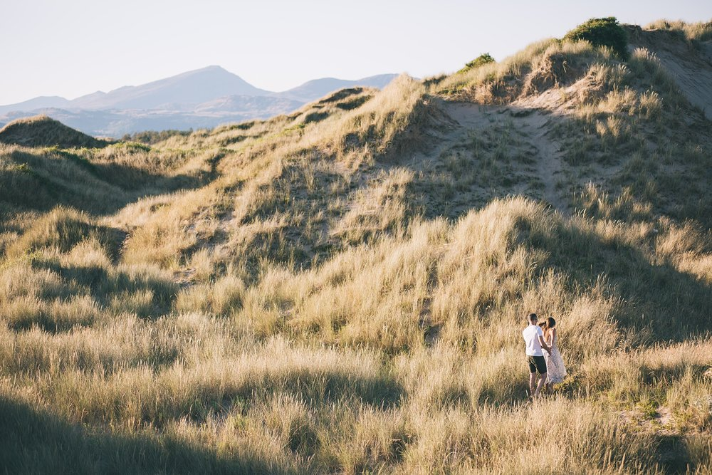 Harlech Beach wedding photography