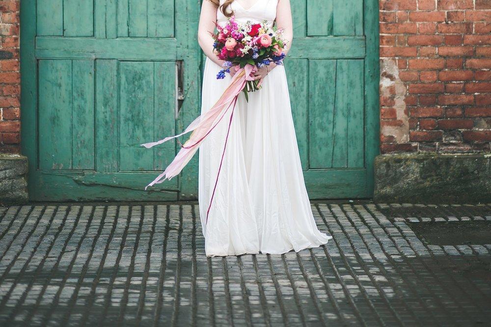 Wes Anderson wedding flowers