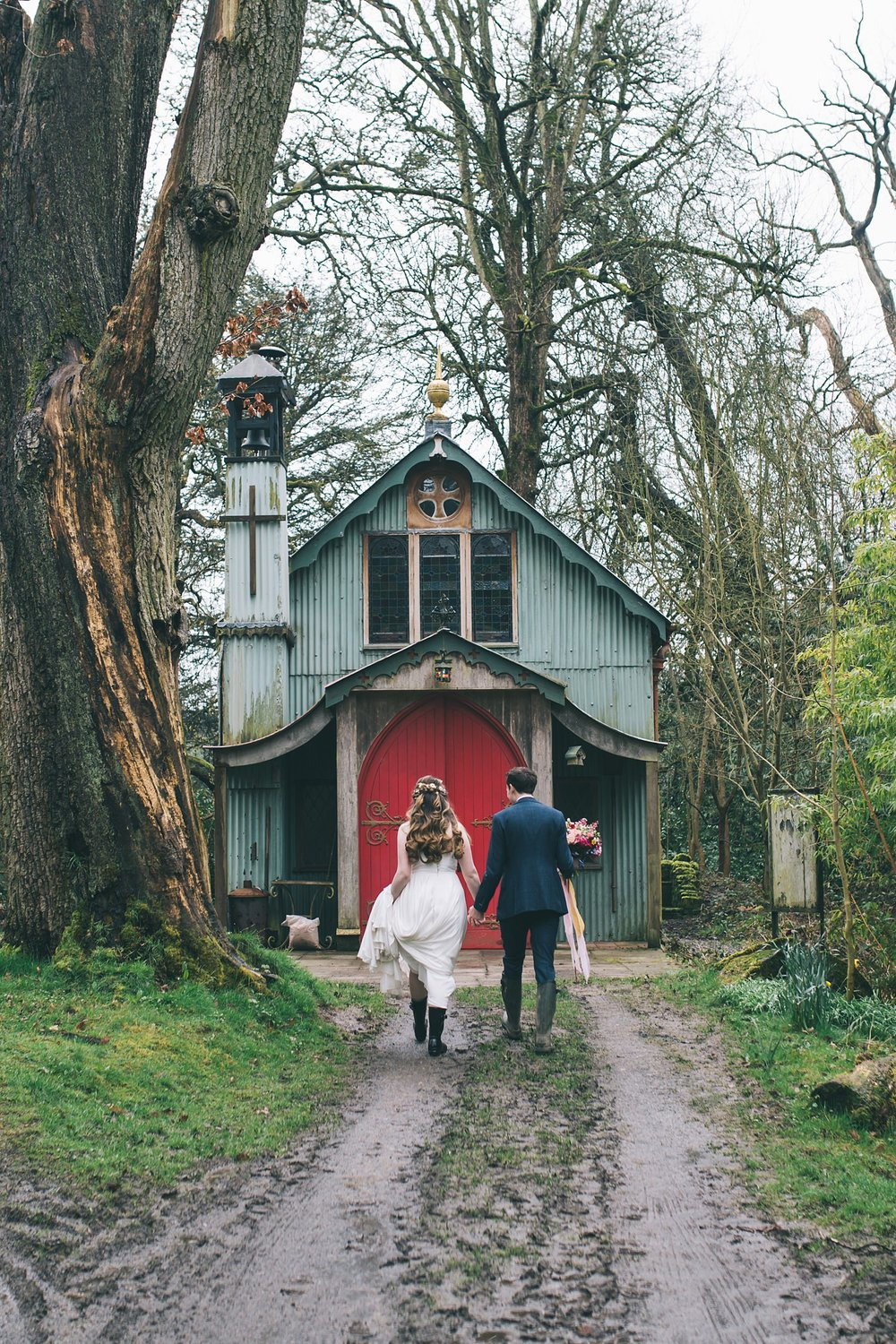 Wes Anderson wedding walcot hall photography