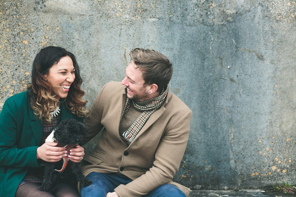 Mount Edgcumbe engagement shoot
