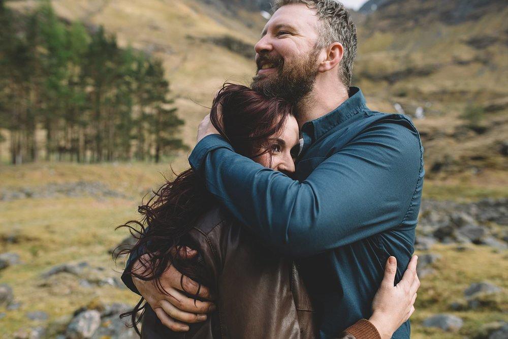 Elopement photographer Scotland Scottish Highlands