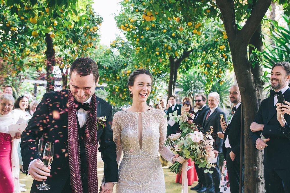 Destination wedding photography Seville
