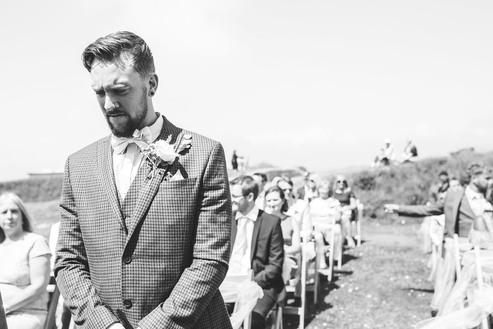 Cornwall Wedding photographer Whitsand Bay Fort