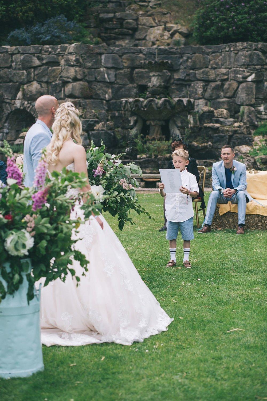 Festival wedding photographer cornwall shropshire
