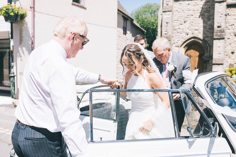Cornwall wedding photographer in Wiltshire Calne Free Church Wedding Photography