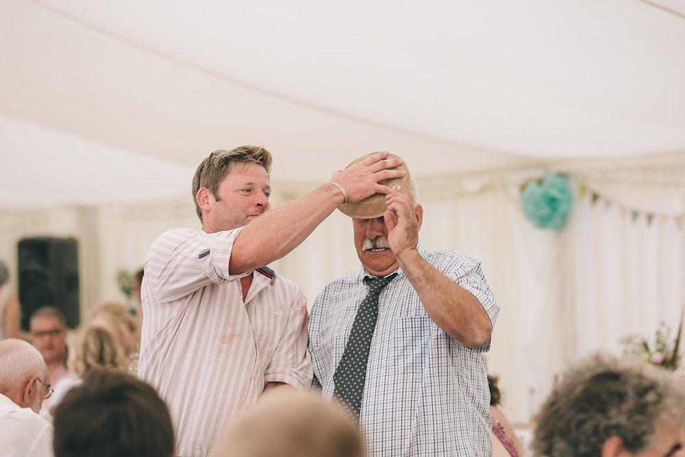 Cornwall wedding photographer in Shropshire