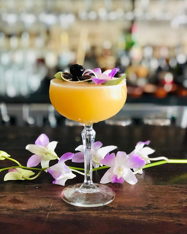 Cocktail of the day by Samuel 🍹 . Name: Piña Colada 🍍🍍 . The piña colada has been the national drink of Puerto Rico since its creation in 1978. Sam's modern twist on this tiki staple brings together; . 🍍Plantation Original Dark Rum 🍍Coconut Horchata 🍍Pineapple juice 🍍Lemon juice 🍍Angostura . Method: Shake & Strain . Garnish: The more the better . #cocktails #mixology #instadrink #drinkoftheday #drinkstagram #pinacolada #pinacoladas #thisisourhood