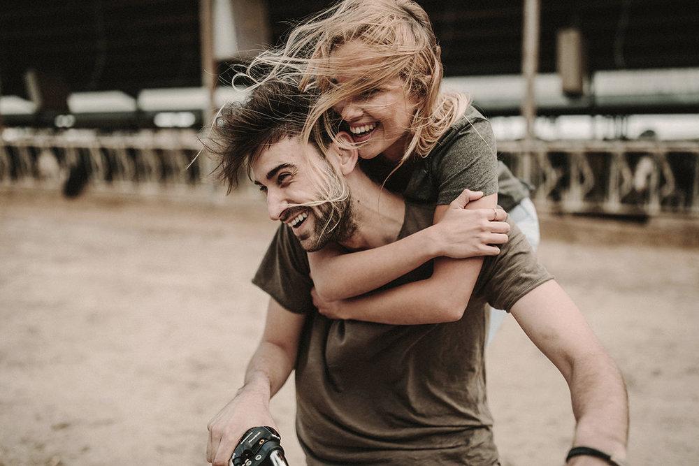 Foto de la sesión de pareja durante el taller One Day Workshop