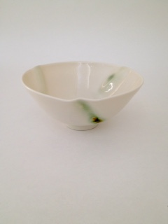 Bowl Green Dash D15cm £40