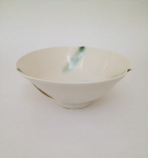 Bowl, Green Dash D20cm £50
