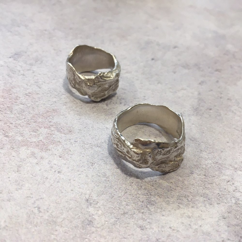 Bark rings £239 each