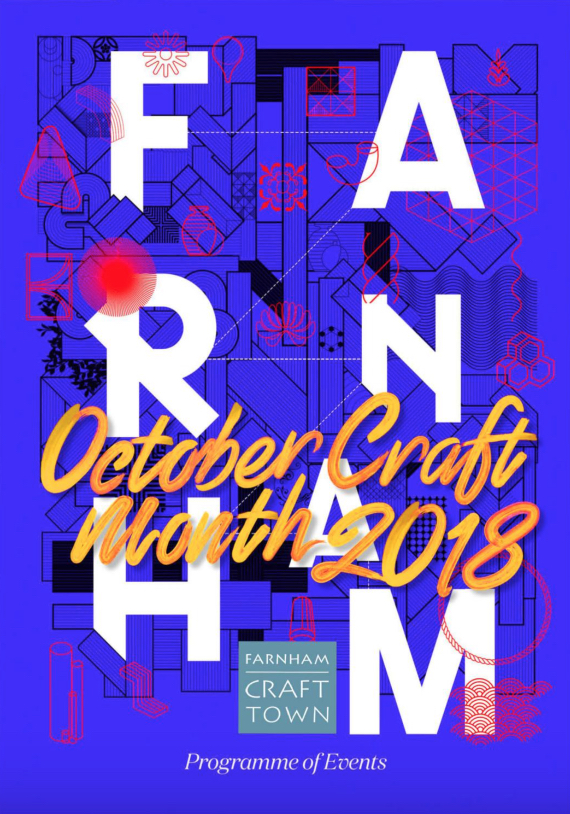 DISCOVER FARNHAM CRAFT MONTH - OCTOBER 2018
