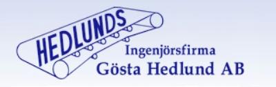 Ingenjörsfirma Gösta Hedlund AB  -  www.ingfahedlund.se/