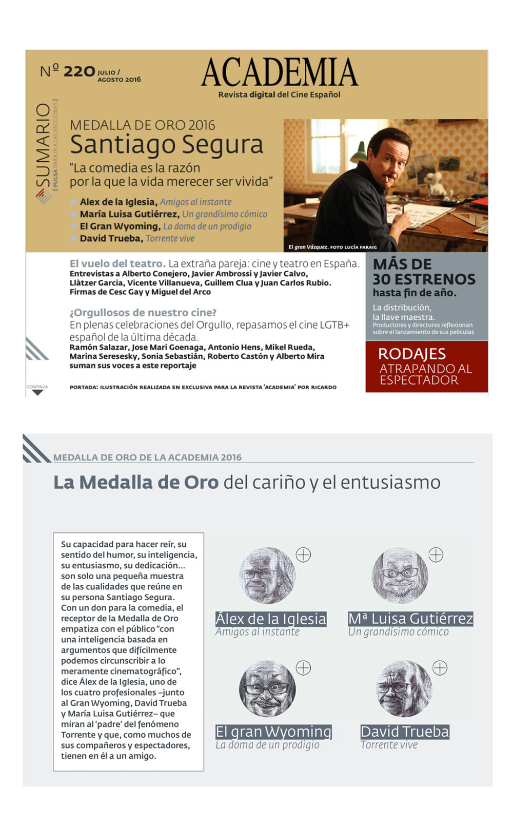 3-events Medalla de Oro 2016