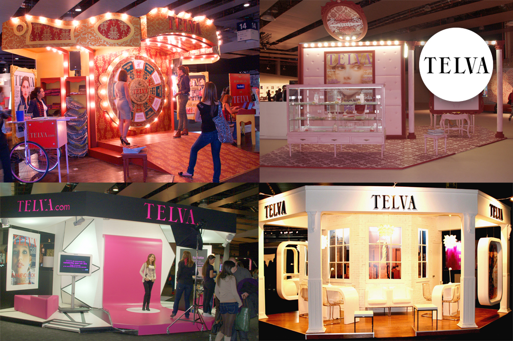 3-events STANDS TELVA