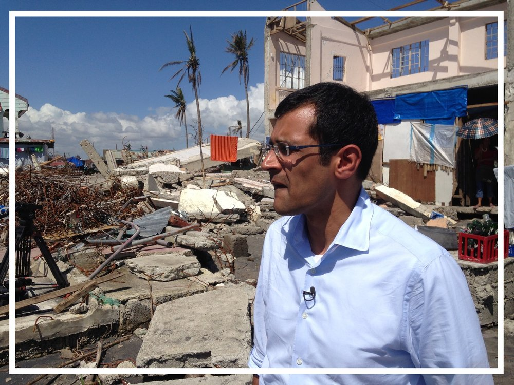 Reporting from The Philippines after Typhoon Haiyan (Tacloban, 2013)