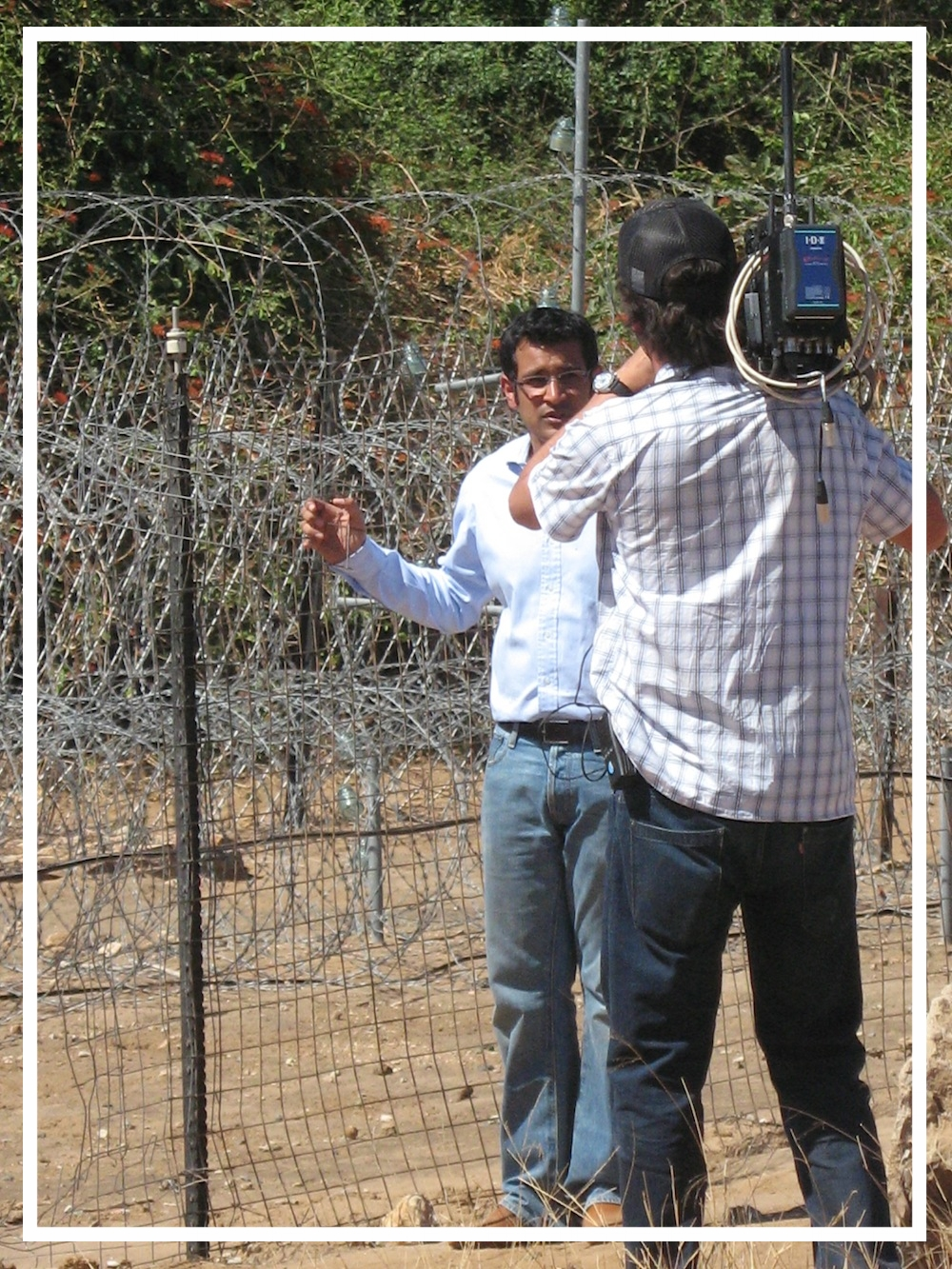 Reporting from the South Africa-Zimbabwe border, 2008