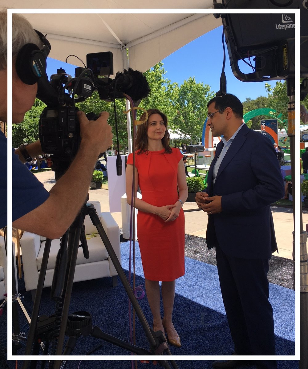 Interviewing US Assistant Secretary of State Evan Ryan in Palo Alto, 2016