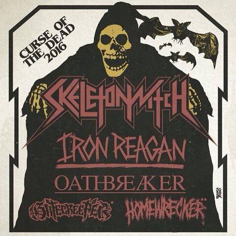 USA 2016. w/ @skeletonwitch , @ironreaganofficial , @homewreckerband & gatecreeper. . . 9/28 Asheville, NC – Mothlight # 9/29 Atlanta, GA – The Earl ^ 9/30 Savannah, GA – The Jinx ^ 10/1 Tampa, FL – Crowbar ^ 10/2 Gainesville, FL – The Atlantic ^ 10/4 New Orleans, LA – Siberia ^ 10/5 Houston, TX – White Oak ^ 10/6 Dallas, TX – RBC ^ 10/7 Austin, TX – Barracuda ^ 10/9 Phoenix, AZ – Rebel Lounge ^ 10/10 San Diego, CA – Brick By Brick ^ 10/11 Los Angeles, CA – The Roxy ^ 10/12 San Francisco, CA – DNA Lounge ^ 10/14 Portland, OR – Panic Room ^ 10/15 Seattle, WA – Highline ^ 10/17 Salt Lake City, UT – Metro Bar ^ 10/18 Denver, CO – Marquis Theater ^ 10/19 Kansas City, MO – Riot Room & 10/20 Des Moines, IA – Vaudeville Mews & 10/21 Minneapolis, MN – Triple Rock & 10/22 Chicago, IL – Subterranean & 10/23 Indianapolis, IN – 5th Quarter & 10/25 Pittsburgh, PA – Cattivo & 10/26 Philadelphia, PA – Underground Arts & 10/28 Brooklyn, NY – Saint Vitus & 10/26 Baltimore, MD – Metro Gallery & 10/30 Richmond, VA – Hardywood Brewery & # with Iron Reagan & Oathbreaker & All Hell ^ with Iron Reagan & Oathbreaker & Gatecreeper & with Iron Reagan & Oathbreaker & Homewrecker