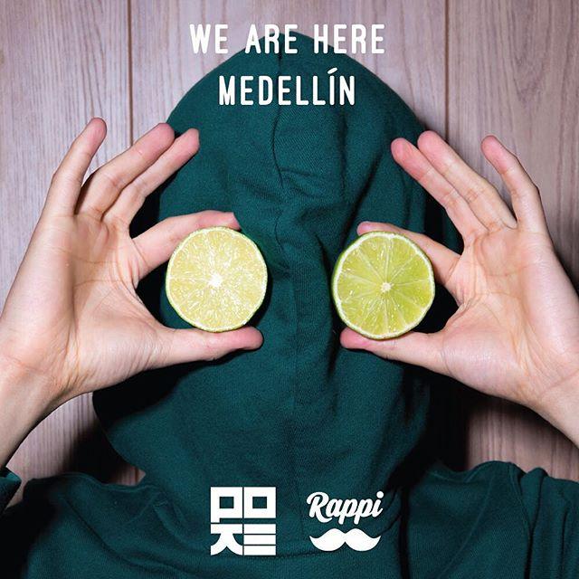¡Estamos aquí Medellín! Encuéntranos en @rappimde y próximamente podrás visitarnos en nuestro nuevo local en el Centro Comercial Viva Envigado.  #pokecolombia #poke #bogota #theoneandonly #thenaturalinstinct