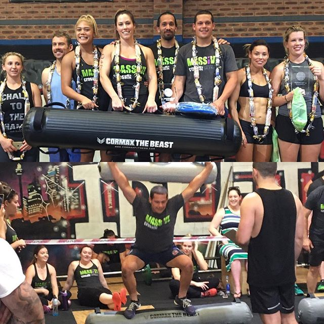 After a fierce Battle Pacific Crossfit competition on the weekend at @idefine_athletic_performance, one team was Victorious!! And they won themselves a brand new CorMax BEAST!! Congratulations @massivecrossfit www.cormaxfitness.com.au