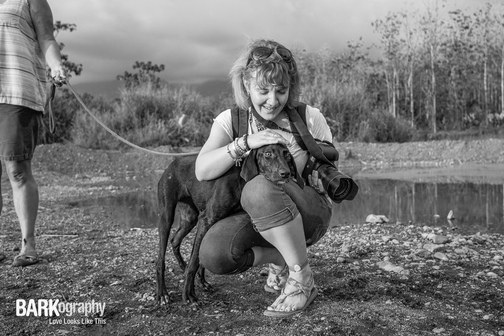 Lost soul Coco and dog photographer Bridget Davey.JPG