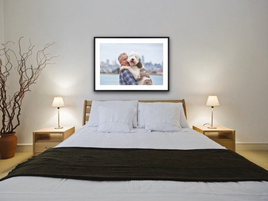 Framed print with mat.JPG