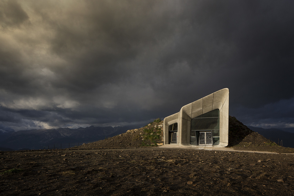Mountain Messner Museum Corones