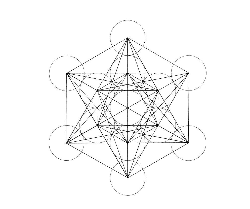 Metraton's cube 'Fruit of Life'
