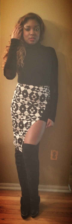 Fashion Staple: Turtleneck x Thigh High Boot