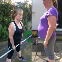 "Suzanne, lost 4 stone ""Ladies Who Lift"""