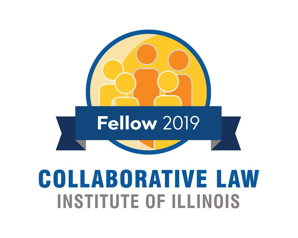 2019 Collaborative Law Institute of Illinois Fellow Seal