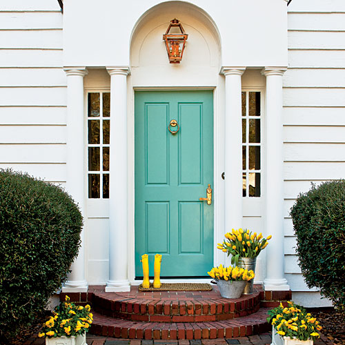 Interior Design Go Bold Front Door Curb Appeal Corinne Gail