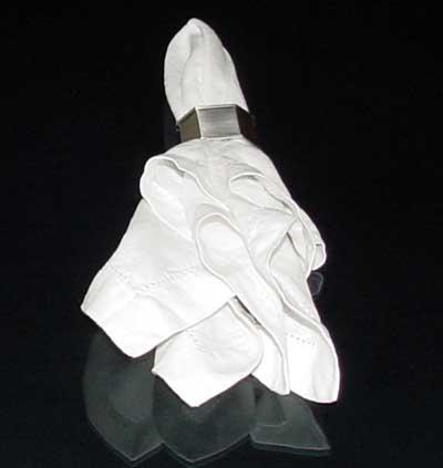 Basic Napkin Ring Stuffer by napkinfoldingguide.com