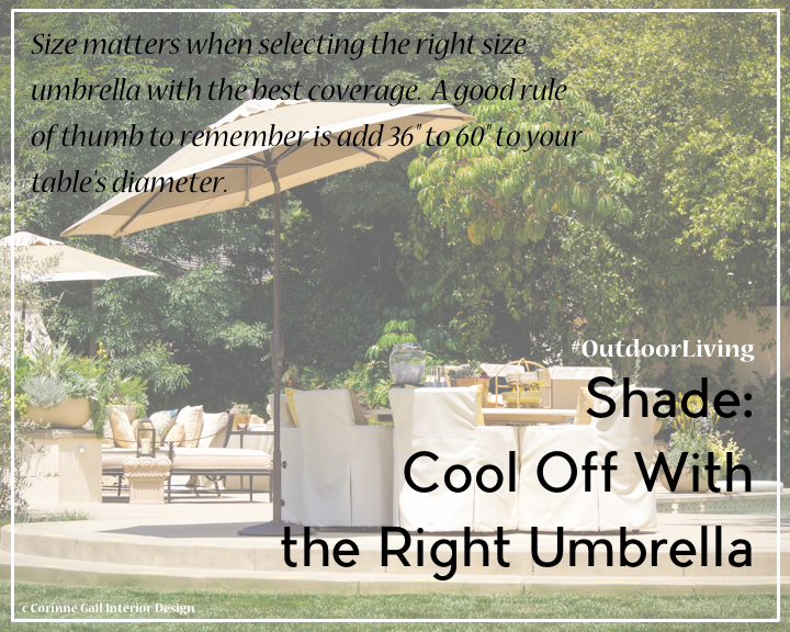 CGID Outdoor Living Tip Shade