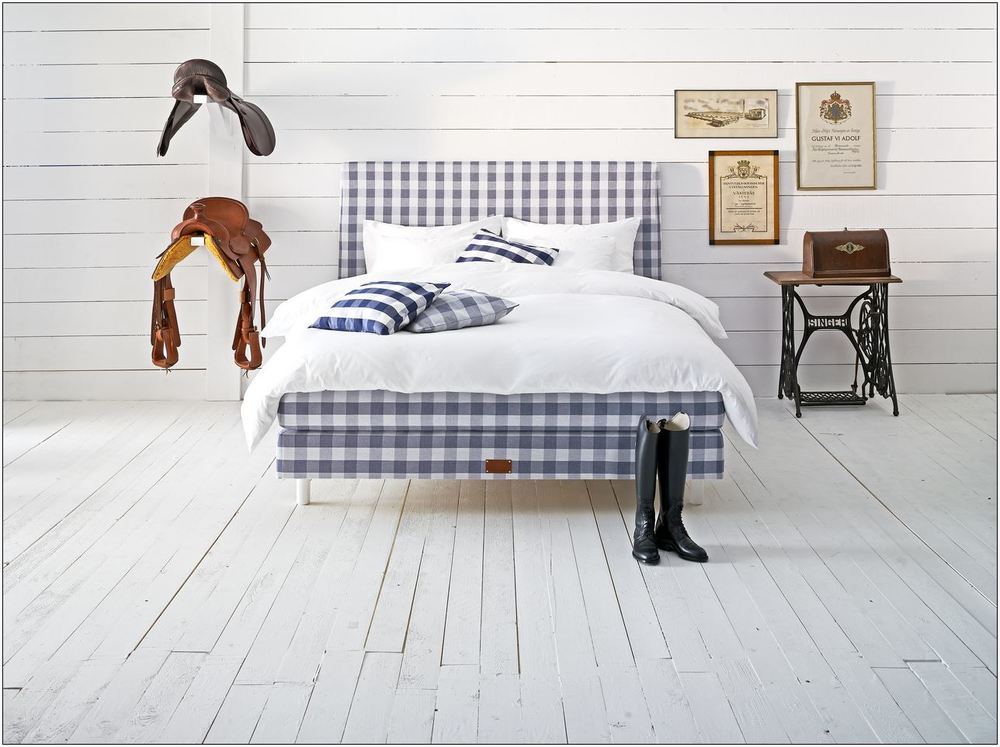 The Swedish made Hastens horsehair stuffed bed is easily one the luxury market's most coveted products. Courtesy Hastens.